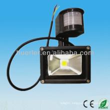 IP65 Outdoor Waterproof 12-24v 100-240v 10w light and dark sensor light