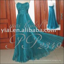 2011 Оптовая Бесплатная доставка высокое качество великолепные короткие органзы бальное стиль вечернее платье PP2349