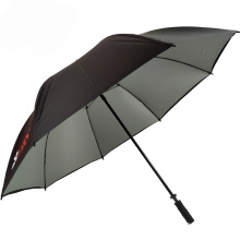 UV coating sun protect silver coated unbreakable rain coat sleeve port umbrella