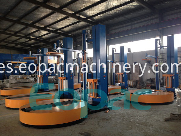 Jumbo Roll Wrapper Reel Wrapping Machine