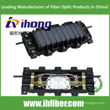 168 core Horizontal Fiber Optic Joint Closure Cable Closure