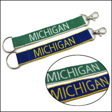 Printed Custom Short Neck Keychain Lanyards for Keys