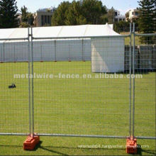 Galvanized/Hot-dipped temporary fencing