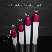 Lip Gloss Roll sur la bouteille avec crochet