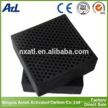 Bloque de panal filtro de carbón activado purificación / filtración
