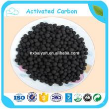 Carbone sphérique activé par charbon de la purification 2-4mm de gaz