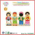 2015 gute Holzfigur hölzerne magnetische Puzzle für Kinder