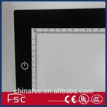 Nuevo ahorro ultrafino LED tablero de dibujo