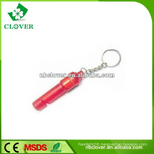 Newly bird 1 LED whistle key finder keychain for idea promotion