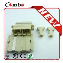 Made In China Buena calidad Mulit Modo Duplex SC adaptador de fibra óptica