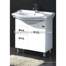 Vaidade de banheiro branco de 24 polegadas