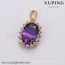 32916 Charming fashion moonstone pendant jewelry wholesale China beautiful women jewelry