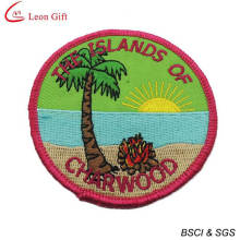 Venda por atacado Custom Logo escola bordado distintivo (LM1560)
