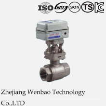 Electric Motorized 2PC Ball Valve for Industrial Use