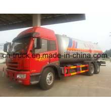 6X4 FAW 10ton Gas Bulk 24m3 LPG Trucks for Sale 220HP