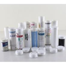 Tableta efervescente tubos con tapones de desecante