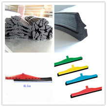 SGS EPDM Rubber Extrusion Window Washing Squeegee