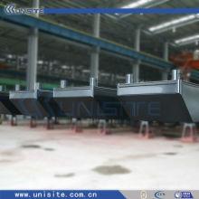 Pontón de acero flotante para dragado y construcción marina (USA-1-005)