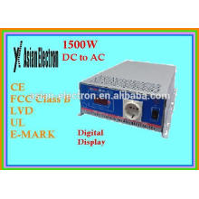 DC to AC inverter 1500W 200~240VAC high frequency