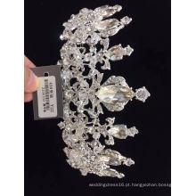 Coroa de grânulos de cristal de diamante de venda quente