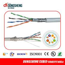 0.51mm 4pair Медный сетевой кабель LAN SFTP Cat5e
