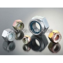 Hot Sale for for Nylon Lock Hexagon Nuts Nylon Lock Hexagon Nuts export to Lithuania Factory