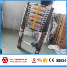Precio barato del fabricante EN131 Escalera portátil plegable telescópica de aluminio