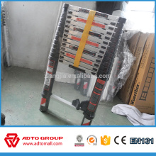 Manufacturer cheap price EN131 Aluminium telescopic folding portable ladder
