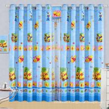 cartoon window curtain / childrens curtains