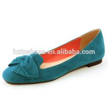 De la buena calidad Cuadrado toe mujeres de moda zapatos de damas zapatos planos bailarina