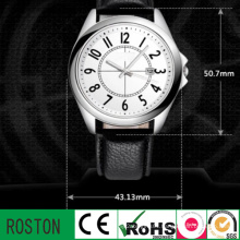 OEM Watch Resistant Genuine Leather Strap Ladies Watch