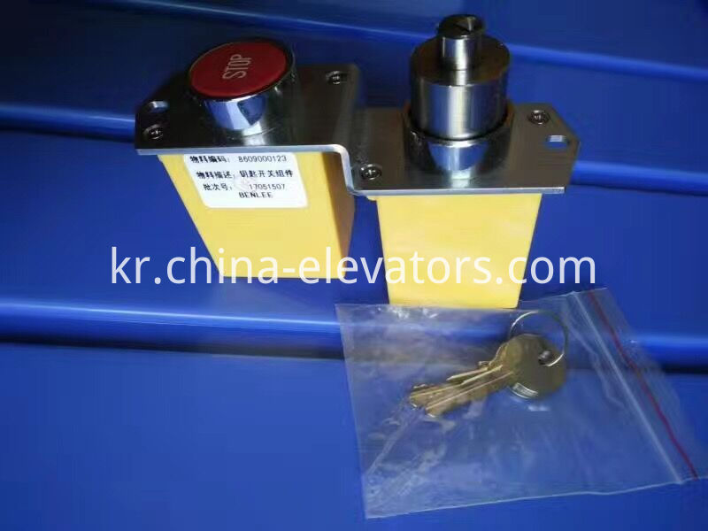 Key Switch Assembly for ThyssenKrupp Escalator