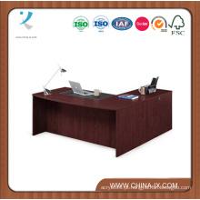 Soluções Bowfront Executive L-Desk com retorno à esquerda