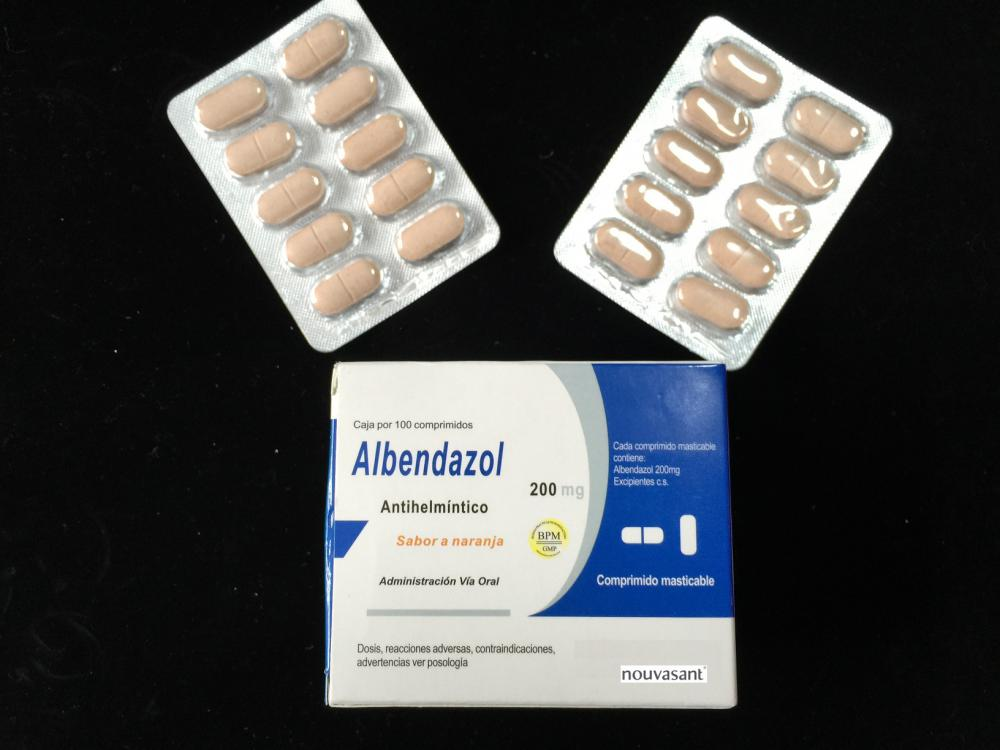 Albendazol Chewable Tablet 200mg CP