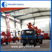 Drilling Depth 300m Truck Mounted Rotary Water Well Drilling Rigs