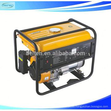 Pequeños generadores silenciosos del uso casero Generador de la gasolina 250V