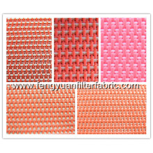 Plain Weave Flat Yarn Fabric Conveyor Belt