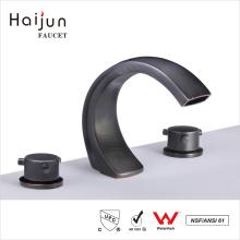 Haijun Factory Prices cUpc 0.1~1.6MPa 3 Hole Deck Mounted Sink Mixer Faucet