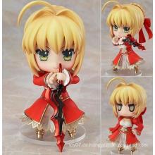 Hochwertige kundenspezifische Anime Figur Plastik Action Figur Puppe Spielzeug