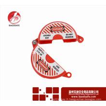 BAODSAFE BDS-F8612 Verrouillage des vannes de sécurité du blocage des étiquettes de notification de la position de la vanne