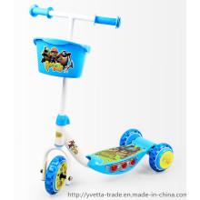 Kinder Plastikroller mit heißem Verkauf (YVC-008)