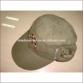 100% algodão não estruturado crianças cap / crianças cap chapéu