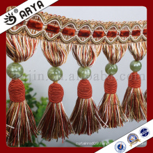 new curtain design hangzhou taojin textile fringe for curtain decoration