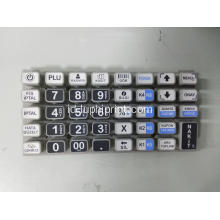 PU Coating Matrix Keypad Karet Silikon Taktil