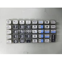 PU Coating Matrix Tactile Silicone Rubber Keypad