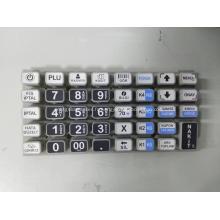 Pavé numérique en caoutchouc de silicone tactile Matrix