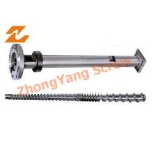 Einzelne Schraube Barrel für Extruder / Extrusion Schraube Barrel