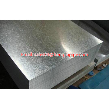 hot-dipped galvanized sheet metal