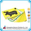 Servicio de impresión de libro de tarjetas con encuadernación con anillo