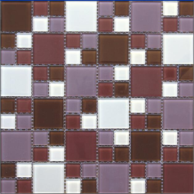 Elegance Color Mixed Glass Mosaic